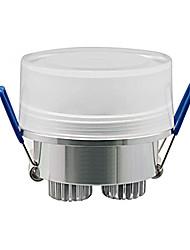 Luces de Techo Luces Empotradas 3 W 3 LED de Alta Potencia 270 LM Blanco Cálido AC 100-240 V