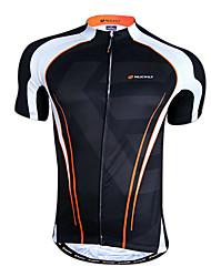 Nuckily-Men Ho-Cooling Tissu à séchage rapide à manches courtes Maillot Cyclisme