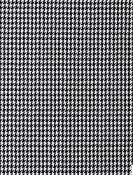 100% coton tissé teint en fil pied de poule par la cour