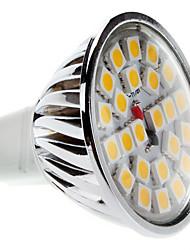 Lampadina LED luce bianca calda MR16 5W 450-550LM 3000-3500K (12V)