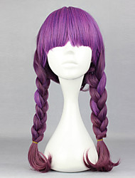 Lolita Wigs Sweet Lolita Lolita Long Purple Lolita Wig 60 CM Cosplay Wigs Solid Wig For Women
