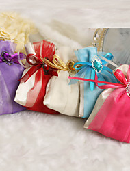 12 Piece/Set Favor Holder Satin Favor Bags Non-personalised