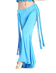 Dancewear Crystal Cotton Belly Dance Pant For Ladies More Colors