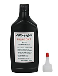 Black Tattoo Inks 360ml