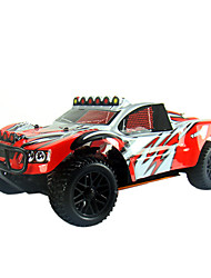 1/10 Шкала R / C Nitro Powered 4WD Off-Road Rally Car