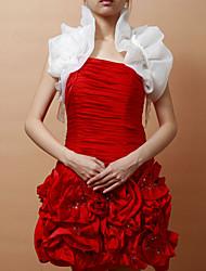Sleeveless Satin Special Occasion Evening Jacket/ Wedding Wrap (More Colors) Bolero Shrug