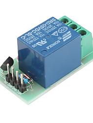 Модуль 5В реле 1-канал для (для Arduino) (зеленый)