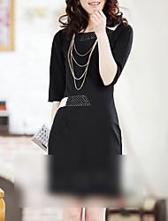 femmes robe d'affaires perle