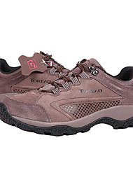 TOREAD Men's EVA Sole Real Leather Camping & Hiking Shoes