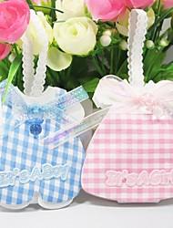 Party Favors e articoli da regalo Bomboniere borse Battesimo Classico Non personalizzato Tessuto non tessuto Rosa/Blu #