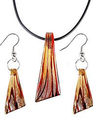 razionalizzare collana d'oro modello Vaidurya e orecchino