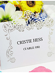 Place Cards and Holders Beautiful Floral Theme Place Card (Set of 12)