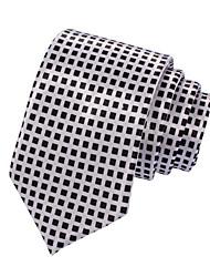 Men's Casual Narrow Check Necktie(Width:5CM)