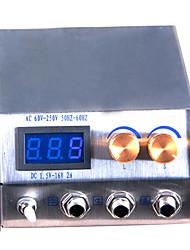 Acier inoxydable fin Adjustablet Blue LED d'alimentation Power Screen Tatoo
