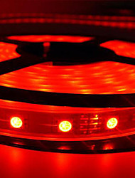5M Water Proof Red LED Strip with 300 LEDs