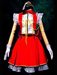 Cosplay Costume Inspired by Macross Frontier Super-Dimension Cinderella Ranka Lee