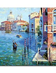 Ручная роспись маслом Пейзаж Венеции 1211-LS0170