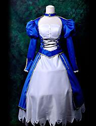 cosplay traje inspirado por noche Fate / Stay s sable lirio