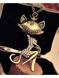 colar de diamante do vintage das mulheres