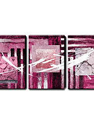 Hand Painted Oil Painting Abstract Set of 3 1211-AB0193