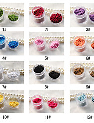 2pcs Other DIY Style Nail Decorations(12 Color To Choice)