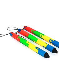 pliable stylo encre bleue coloré couverture à bille (1-Pack)