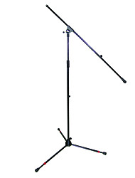 Superlux - (MS158E) Extention Leg Big Foot Willie Adjustable Boom Microphone Stand With Bag