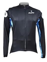 Kooplus Black Classics Men's Cycling Long Sleeve Jersey