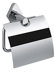 современные твердой латуни стене серебра рулон туалетной бумаги Держатели-хромированием