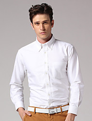 GOODFUTURE-Men 100% coton Laver et l'usure shirt (blanc)