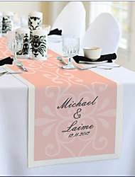 Table Centerpieces Personalized Reception Desk Table Runner - Orange  Table Deocrations