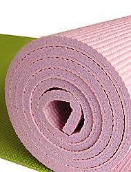 Eco-Friendly PVC extra grosso antiderrapante Yoga Mat Pilates (cores sortidas, 183 centímetros, 10mm)