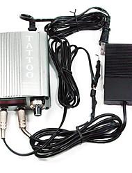 Puissance réglable Tatoo Supply écran LCD Argent