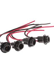 T10 LED Câble Support de lampe (4-pack)