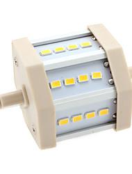 6W R7S Ampoules Maïs LED T 12 SMD 5630 600 lm Blanc Chaud AC 85-265 V