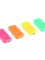 Dolphin Pocket Size Fluorescence Color Metal Gas Lighter with Grinding Wheel (Random Color)