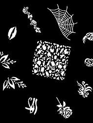 1шт 2D Finger штамповка изображения Плиты