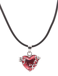 Heart-shaped Picture Box Necklace