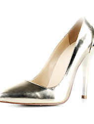 Verniz Bombas salto stiletto partido / Evening Shoes