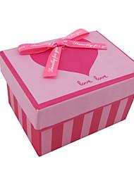 """""""Dar-lhe o meu amor"""" caixa de presente com laço de fita (cores mais)"""
