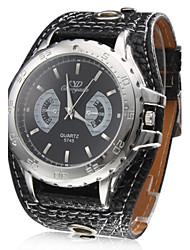 Relógio para Homem com Bracelete PU