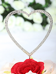 "Cake Toppers ""Loving You With All My Heart"" Rhinestone  Cake Topper (More Sizes)"
