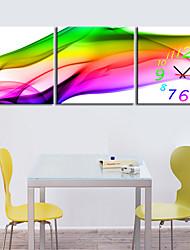 style moderne toile scénique horloge murale 3pcs K226