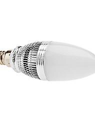 Ampoule LED Bougie Blanc Chaud (85-265V), Variateur d'Intensité, E14 3W 240-270LM 3000-3500K