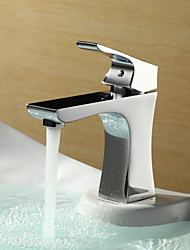 Sprinkle® von lightinthebox - verchromt centerset einzigen Handgriff Messing Waschbecken Wasserhahn