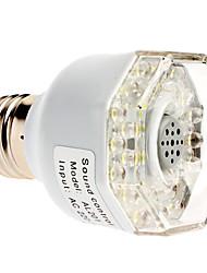 Sound aktiviert E27 3W 240-270LM Natürliche White Light LED Spot Lampe (220-240V)