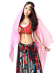 Performance Dancewear Chiffon Belly Dance Veil For Ladies More Colors