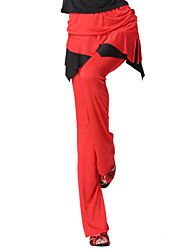 Dancewear Velvet Latin Dance Bottom For Ladies More Colors