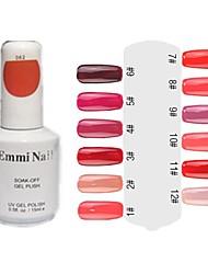 UV Color Gel Hot Sale Nail Polish (15ml, 1 Flasche)