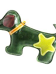 Tutto in pelle di mucca doppi colori Puppy Dog Toys cigolio Style